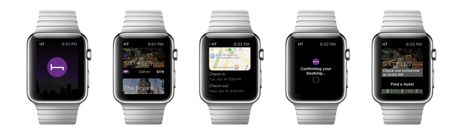 HotelTonight Apple Watch