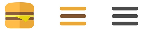 hamburger menu evolution