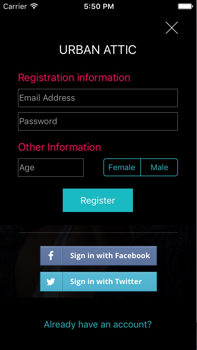 Screenshot showing original variant: image 2 of 4, registration