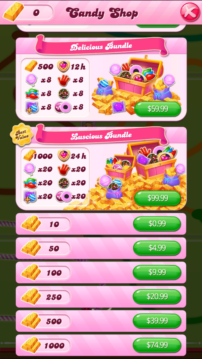 Candy Crash Currency