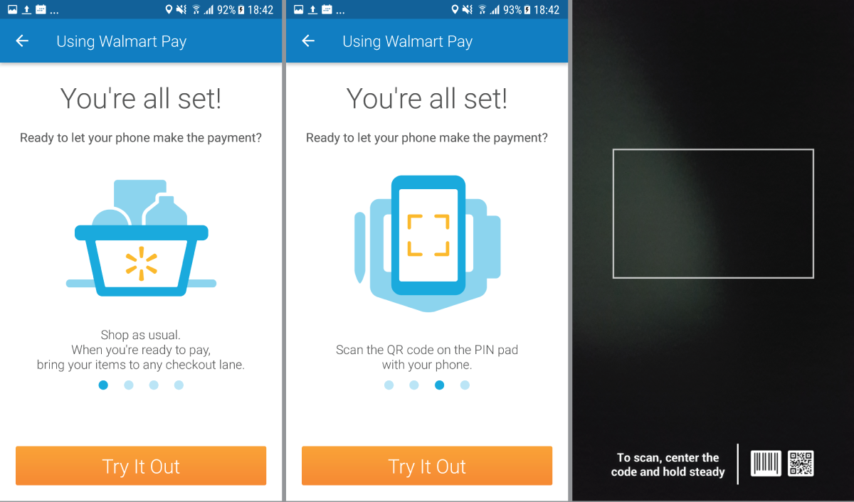 Walmart: store-to-mobile experience
