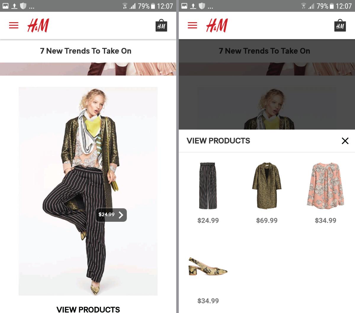 H&M trend