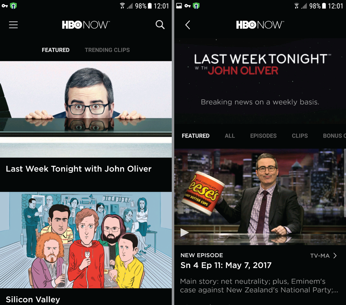 Mobile App Engagement - HBO NOW