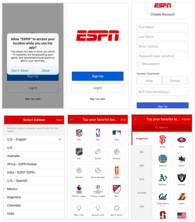 ESPN test
