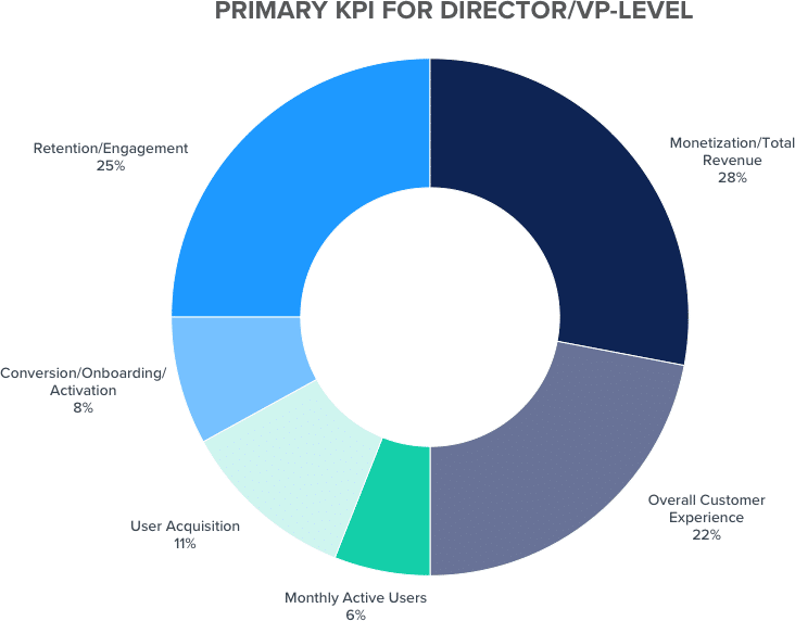 Primary KPI Director VP graph